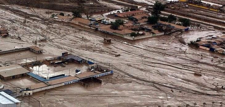 Chile-Desastre Norte-Aluviones