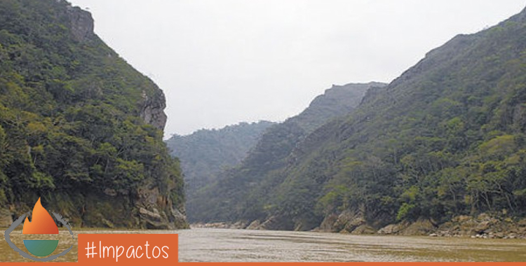 Estrecho de El Bala. Foto: Cortesía La Razón
