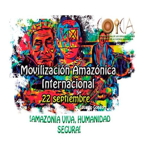 movilización amazónica internacional